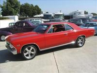 Heres an excellent example of a Chevelle. This car has