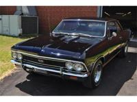 This True 1966 Chevelle Malibu SS 396 Sport Coupe was