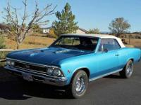YEAR: 1966 MAKE: Chevrolet MODEL: Chevelle BODY: