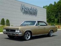 This 1966 Chevrolet Chevelle SS ZL1 Restomod features a