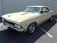 This true (138) 1966 Chevelle Super Sport is presented