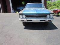 True 1966 Chevelle SS 396 hardtop a genuine 13817 SS.