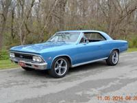 THIS IS A VERY SHARP NICE 1966 CHEVELLE SS 396 TRIBUTE