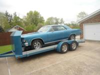 1966 Chevelle SS and 1995 Car Trailer VIN#