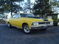1966 Chevrolet Chevelle SS High Performance 5000 miles