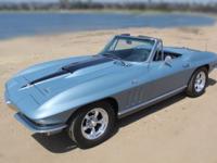 1966 Chevrolet Corvette 2 door convertible with Hard