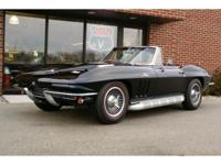 The 1966 Chevrolet Corvette Roadster is a beautiful