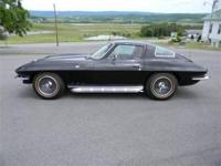 1966 Corvette Coupe 327-350 hp, 4 speed, numbers match.