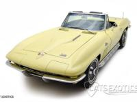 1966 Chevrolet Corvette Stingray Convertible finished