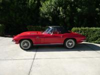 "Gorgeous ""TOP FLIGHT"" 1966 Corvette Convertible Car"