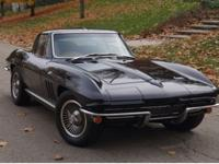 This is a frame off brought back 1966 Corvette.This