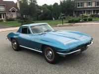 1966 Corvette Coupe - Nassau Blue, 55,943 Original