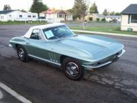 1966 Chevrolet Corvette (MT) $74,900 59,443 miles 2