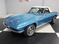Stk#077 1966 Chevy Corvette Roadster Painted the