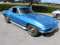 1966 Chevrolet Corvette Stingray. Numbers matching L79