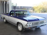 Here is a one of a kind fully restored 1966 Chevy El