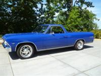 Custom built El Camino with lots of SS options. This El