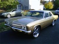 1966 4 door Chevy Impala. Car has new Two-tone interior