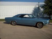 This 1966 Chevrolet Impala SS 2-door hardtop is
