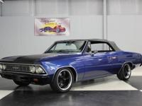 Stk#007 1966 Chevrolet Malibu Convertible Painted a