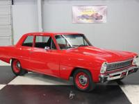 Stk#003 1966 Chevrolet Nova 6002 miles since car was