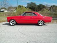 1966 Chevy Nova for Sale, ZZ4 350 engine with aluminum