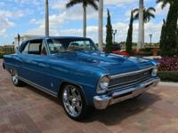 1966 Chevy II Nova.  -Paint and Body is a 10 One