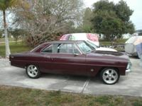 1966 Chevrolet Nova SS 2DR HT Clone ..Beautifully