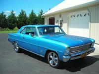 Up for sale is a nice 1966 Chevy Nova Super Sport. It