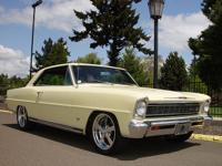 Offered here is a mint, numbers matching 1966 Nova
