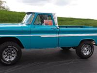 1966 Chevy custom cab pickup 427 (435hp) 4 speed 1ton