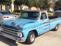 1966 Chevy C10 Pickup for sale (OK) - $12,000. Small
