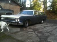 1966 caprice wagon 6 passenger has running 350 th 350