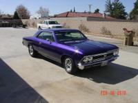 1966 Chevelle - 454, 3 Two Barrel Carburetors, Oval