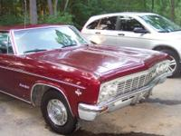 1966 Chevrolet 2dr HT Impala SS P.S. P.B. Power Glide