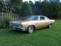 Very nice 66 impala. It has a fresh 283 with a
