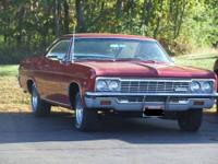 66 Impala SS 2 door hardtop Numbers matching Older