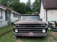 I HAVE A 1966 CHEVY PICKUP FOR SALE SHORT BOX STEP SIDE