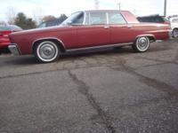 Options Included: 1966 Chrysler Imperial Crown Four