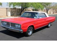 This 1966 Dodge Coronet 440 Convertible received a