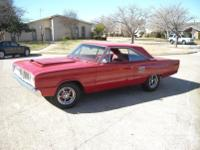 1966 dodge coronet 500.  -This is a factory 383 car now