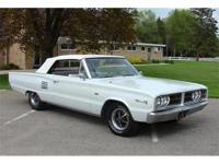 1966 Dodge Cornette 500 Convertible. Only 83K actual