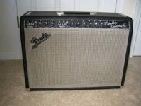 I am selling my 66 blackface Vibrolux Reverb amp. I