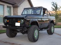 1966 Ford Bronco  It is a very clean vehicle and runs