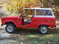 VERY RARE 1966 U13 FORD BRONCO ROADSTER 4X4 IN ITS