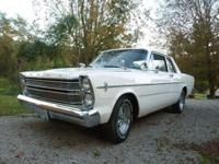 1966 Ford Custom 500 Galaxie base V8 289 2 Door Post.