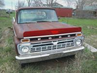 66 Ford rebuilt 390 with 4 speed, in great condition,