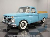 This 1966 Ford F100 is a cool mix of basic truck