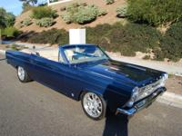 1966 Ford Fairlane GTA Convertible.  -One of only few