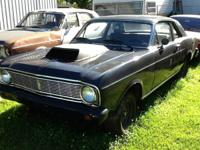 1966 Ford Falcon Futura 2 DR rolling chassis / body, NO